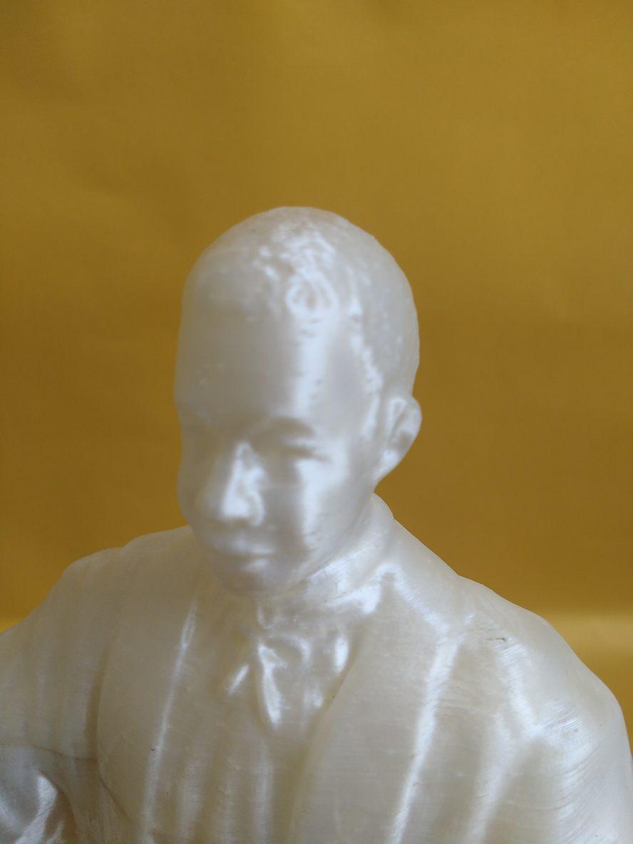 Imagem Escultura para Molde Topo Detalhe