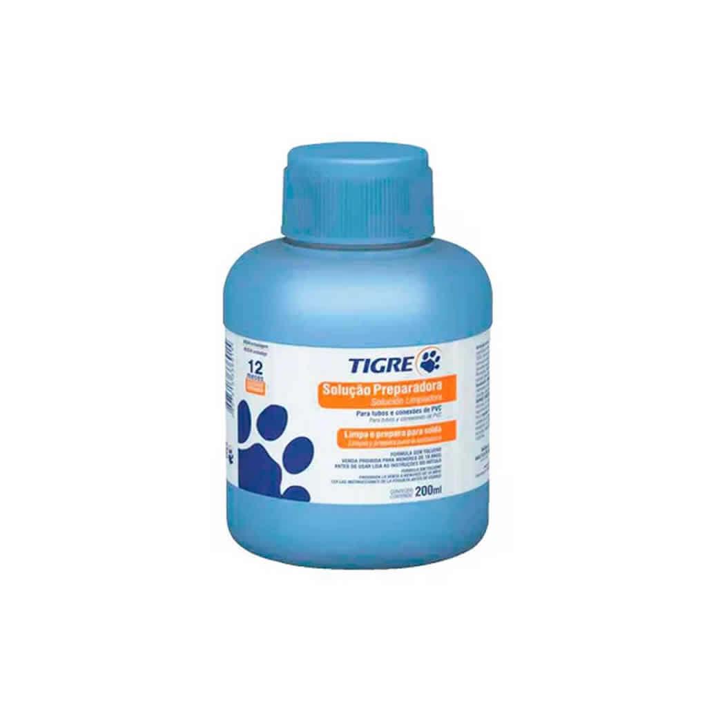 Solução Preparadora Tigre para vapor de acetona