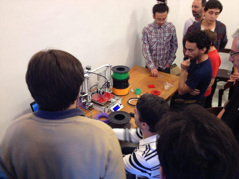 Arduino Meetup apresentação 3D Fila ABS e Factor3D