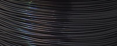 Amostra Filamento ABS - Preto Sépia 1,75mm