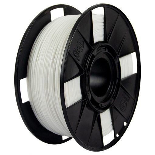Foto do filamento HIPS Solúvel na cor Branco