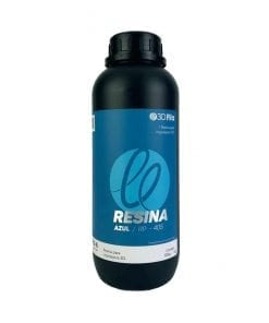 Resina 3D Azul para Impressora 3D LCD DLP SLA