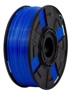 Foto do filamento ABS Premium Cristal na cor Topázio Neon