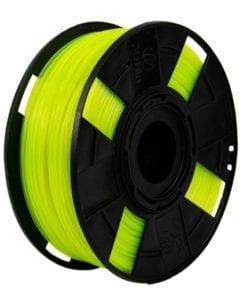 Foto do filamento ABS Premium Cristal na cor Olivina Neon