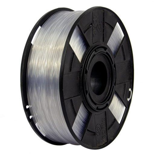 Foto do filamento Flexível na cor Transparente