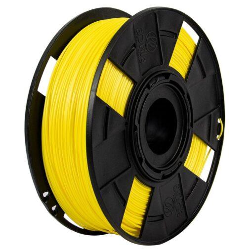 Foto do filamento PLA Basic na cor Amarelo Basic
