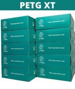 Imagem de 10 embalagens de filamentos empilhadas