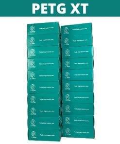 Imagem de 20 embalagens de filamentos empilhadas