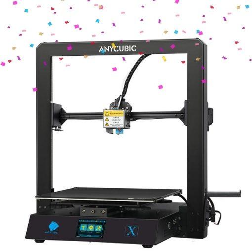 Impressora 3D Anycubic Mega X em promoção de aniversário
