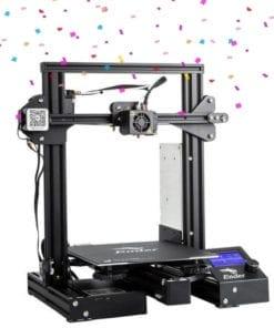 Impressora 3D Ender 3 PRO em promoção de aniversário