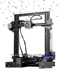 Impressora 3D Ender 3 em promoção de aniversário