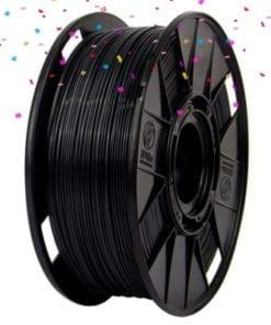 Filamento Petg Black Metal, preto, em promoção de aniversário