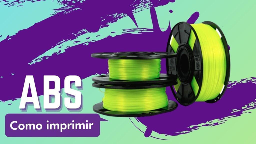 #3DFilaNaPratica Aprenda como imprimir com o Filamento ABS Premium