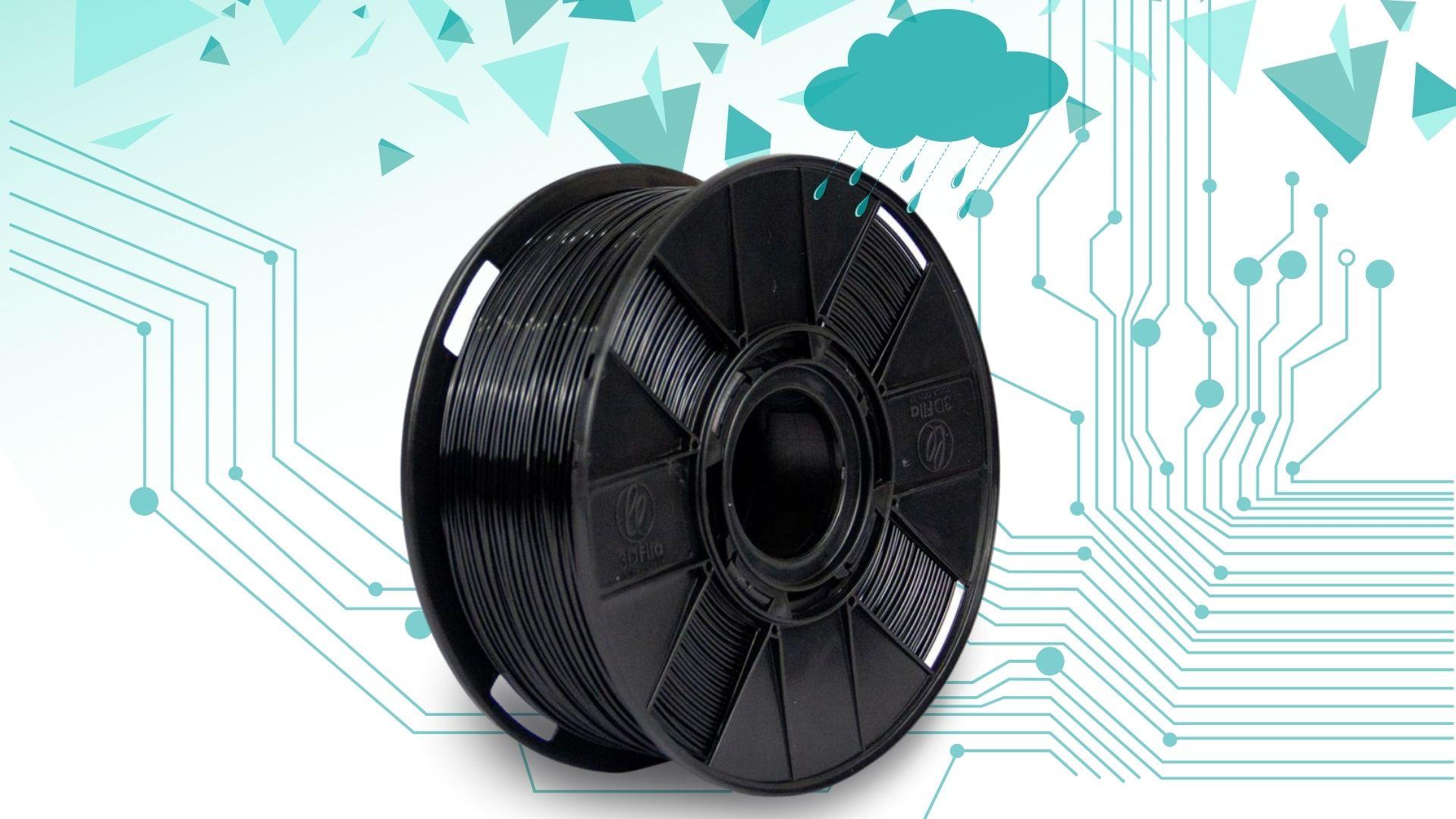 Foto de capa referente ao filamento ASA WP