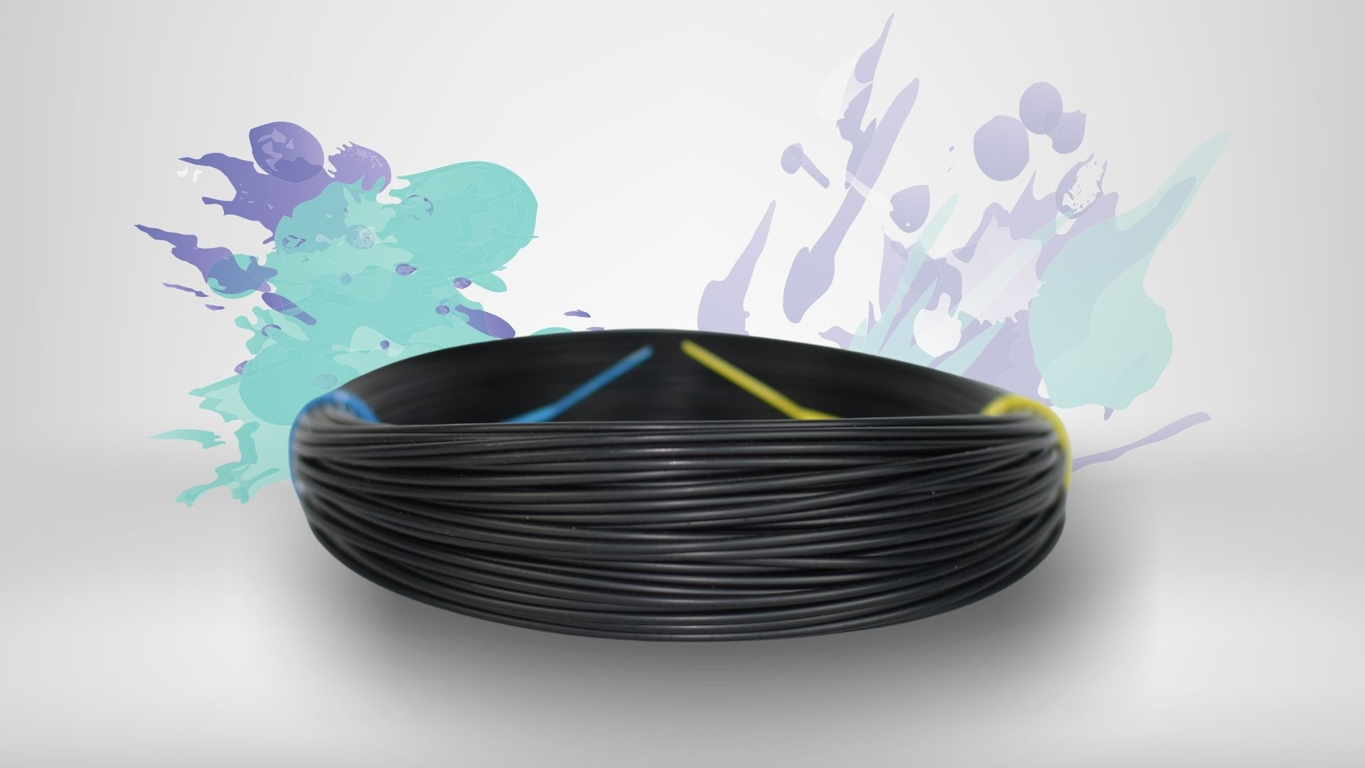 Foto da cor disponível no filamento ASA