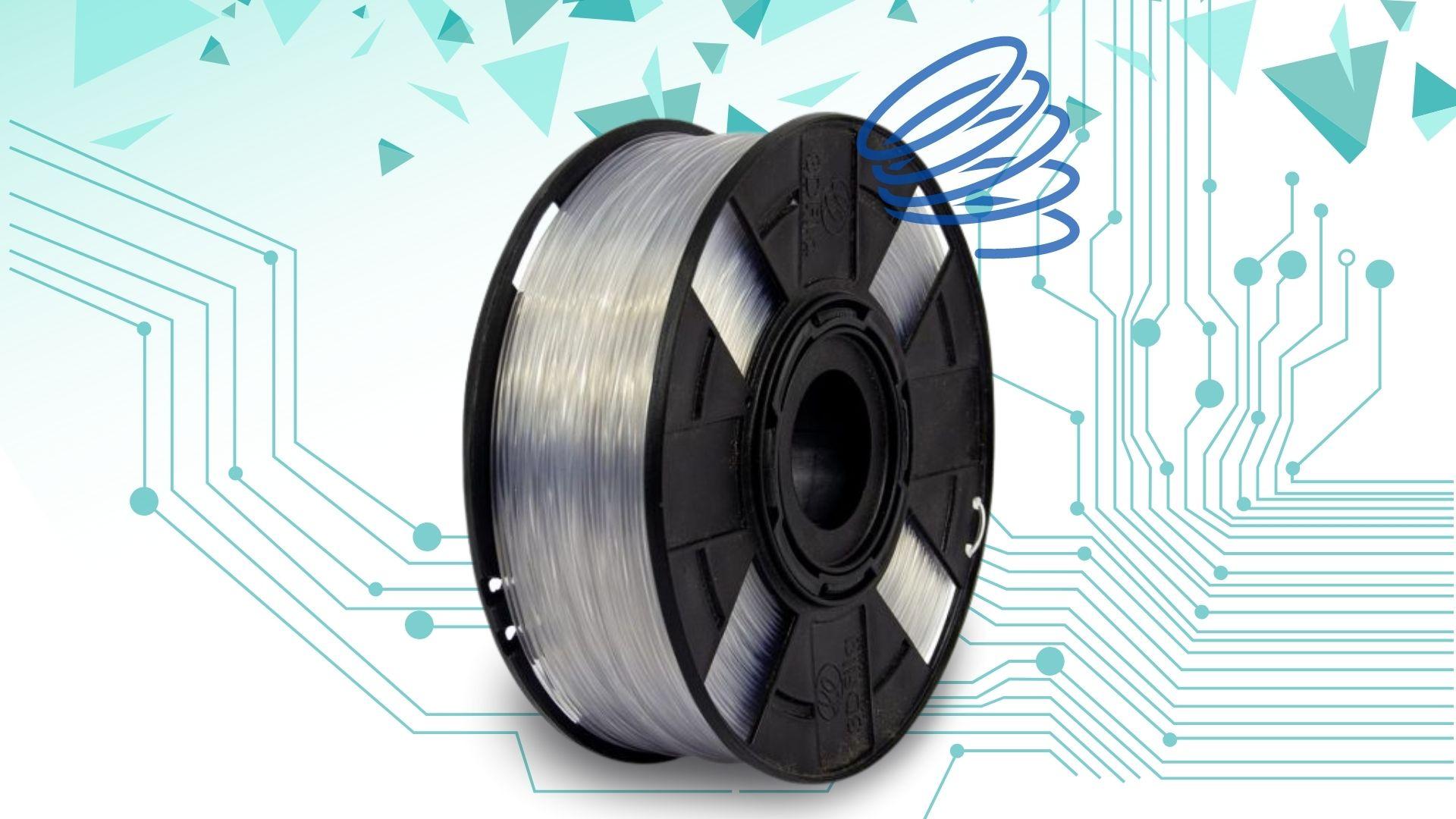 Foto de capa referente ao filamento Flexível