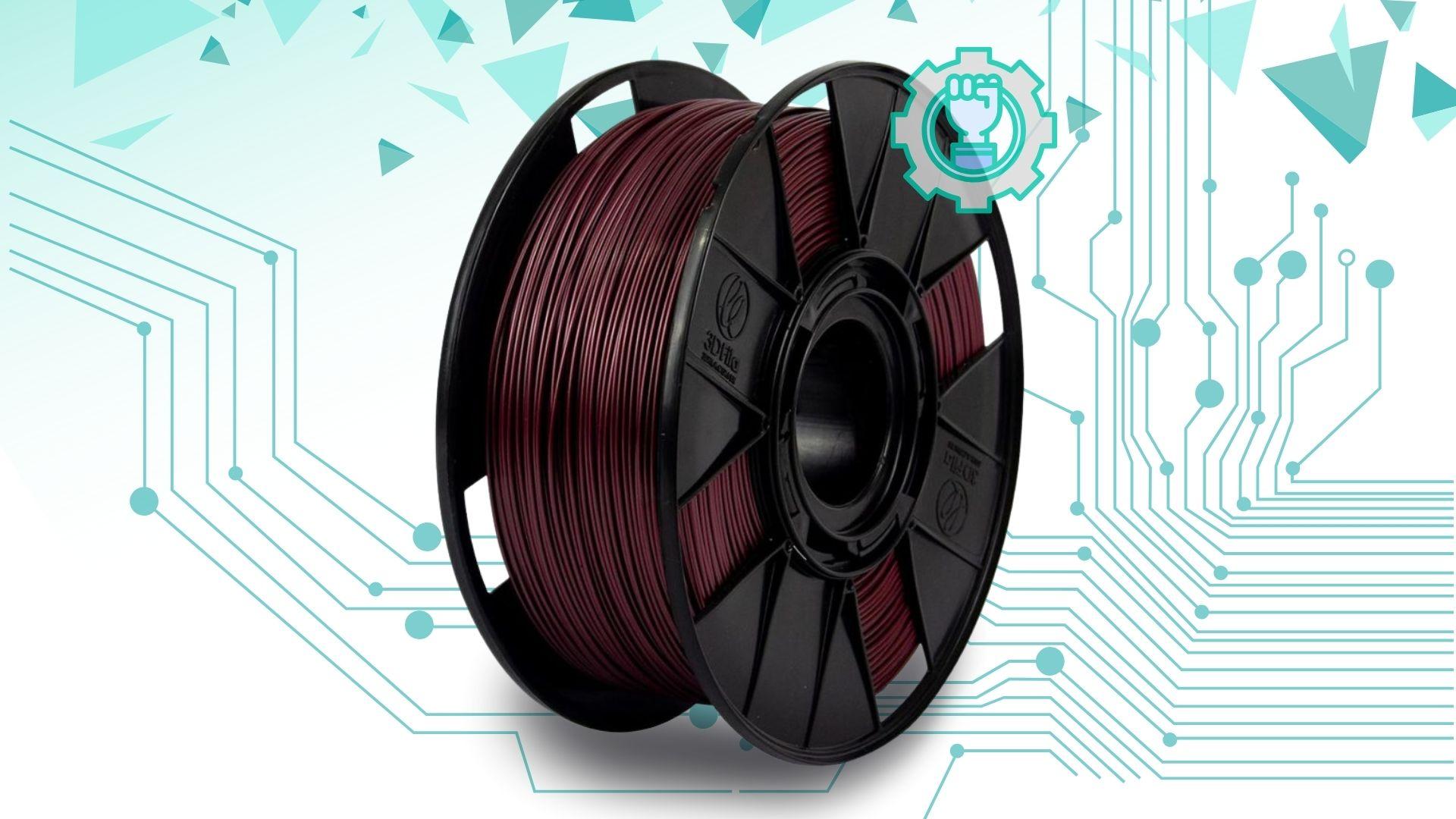 Foto de capa referente ao filamento PETG