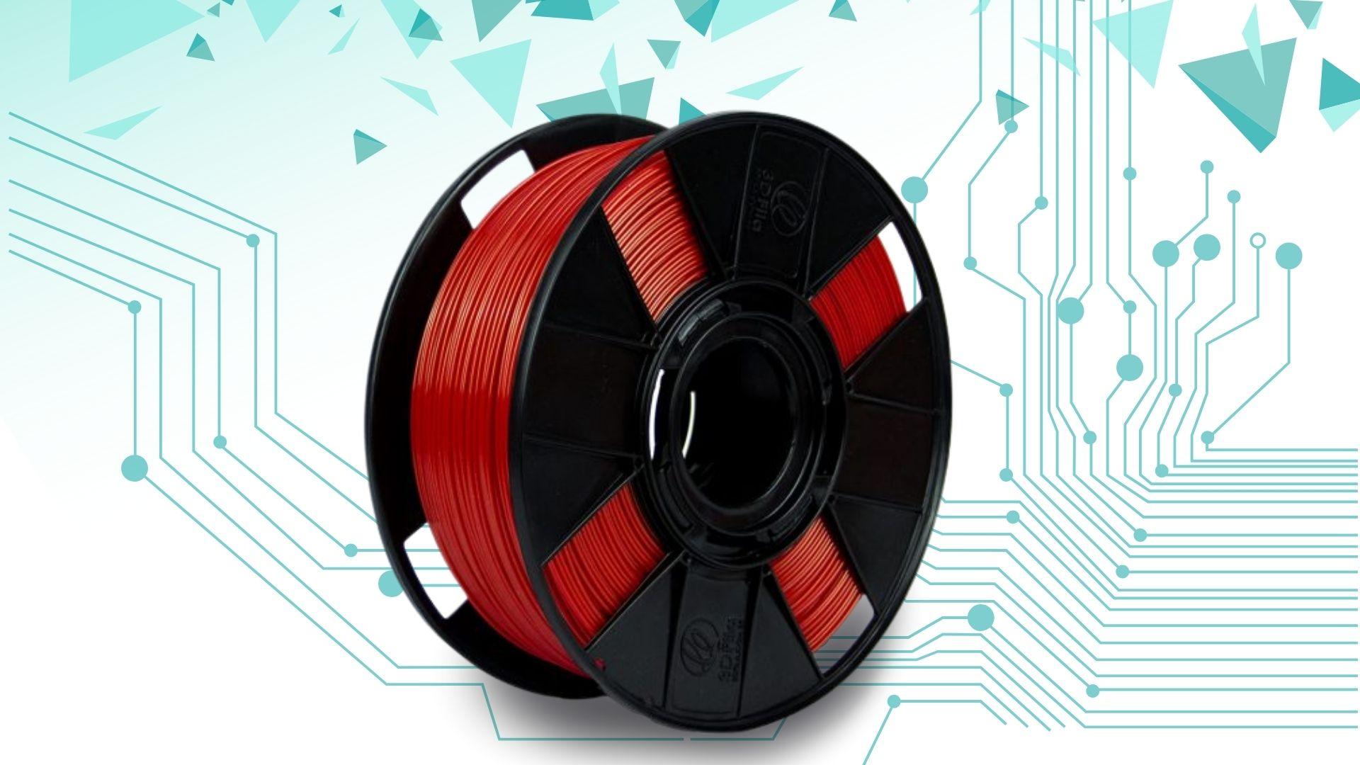 Foto de capa referente ao filamento PLA Basic