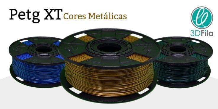 Filamento PETG Metalizado XT