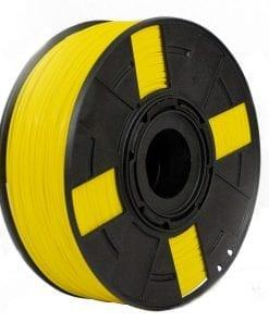 Foto do filamento ABS Premium + na cor Amarelo Canário