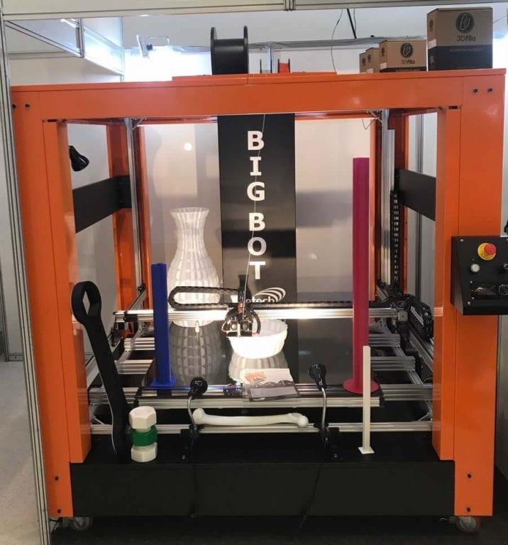 BigBot Segunda Maior Impressora 3D do Mundo