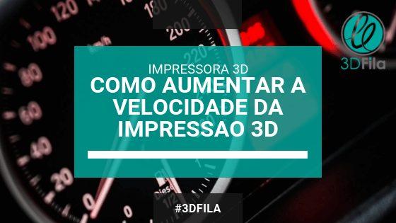 Imagem de ilustração do tópico sobre como aumentar a velocidade da impressão 3d com fundo de um velocimetro de carro
