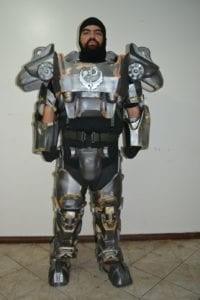 POWER ARMOR T-60 Frente