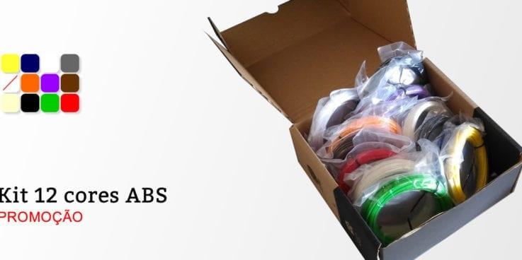 Promoção Kit 12 cores para Canetas 3D