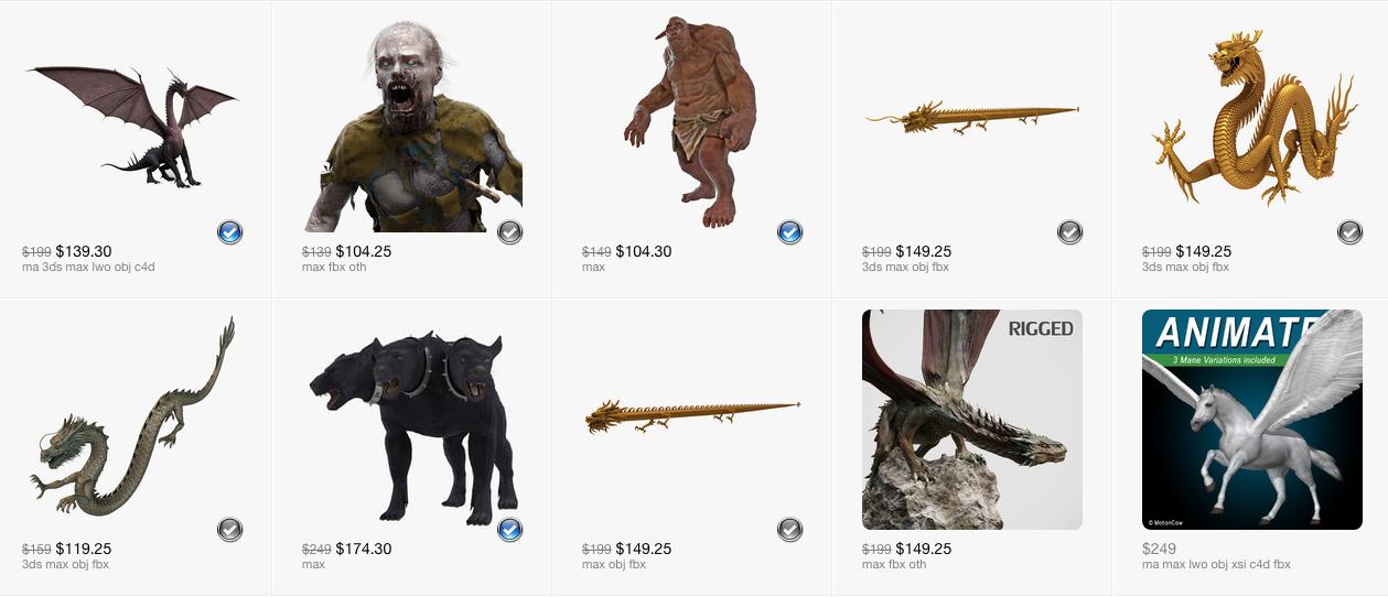 Loja Virtual Compra de Modelos 3D