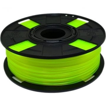 Filamento ABS Olivina Neon Translúcido