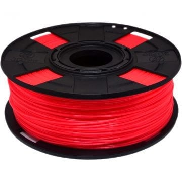 Filamento ABS Rubi Neon Translúcido