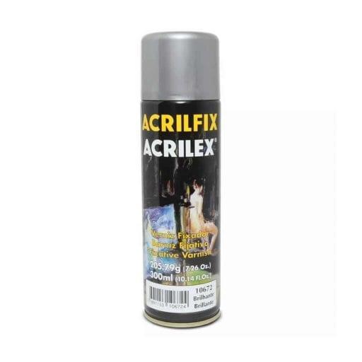 Acabamento Verniz Acrilfix Spray Impressora 3D