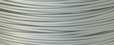 Amostra Filamento PLA Prata Machine 1,75mm