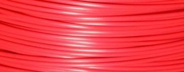 Amostra Filamento PLA Vermelho Cherry 50g