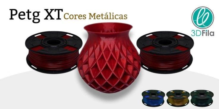 PETG XT Core metálicas