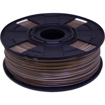 foto do carretel de filamento pla easyfill eco com cor marrom
