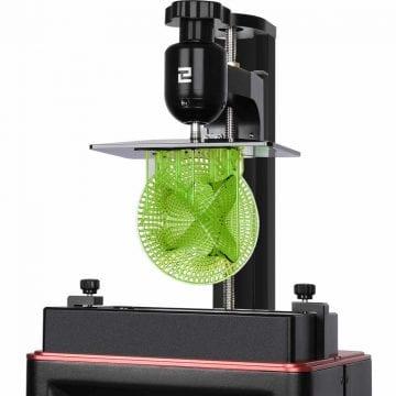 Peça Impressa com Resina 3D em uma Impressora 3D Elegoo mars