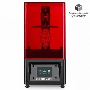 Impressora 3D Elego Resina LCD DLP SLA