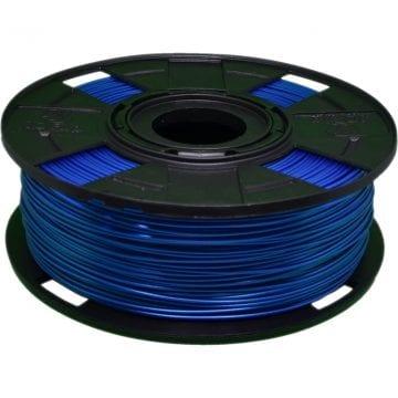 Foto do carretel de filamento 3d azul tritan ht