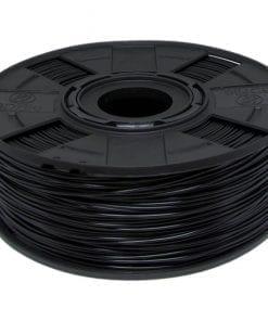 Foto de um carretel de filamento PLA Preto Basic