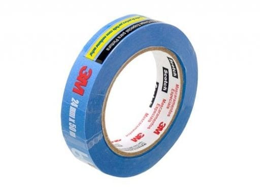 Fita Crepe Azul Blue tape scotch 3m