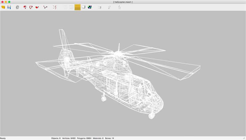Programa disponível em windows e mac para conversão de arquivos 3d em objetos 3d de diversos formatos