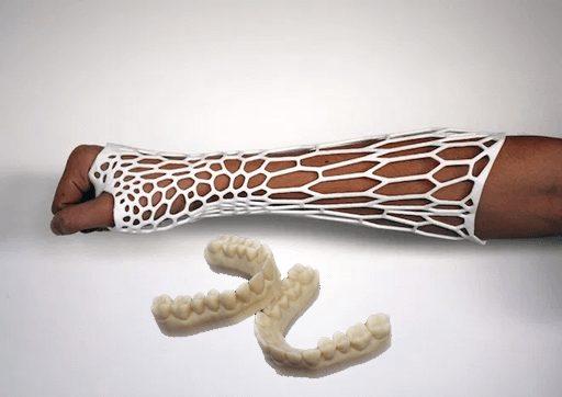 impressora 3d para profissionais da saude