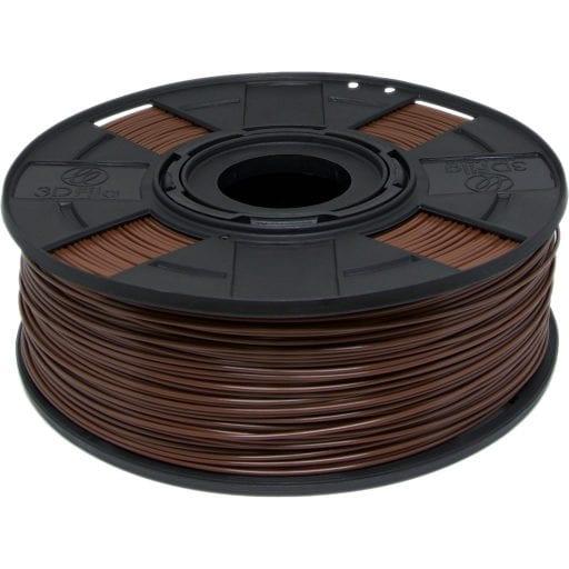filamento abs premium marrom chocolate