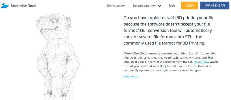 A maior plataforma de impressão 3d conta com ferramenta para correção dos arquivos 3d e conversão de objetos 3d