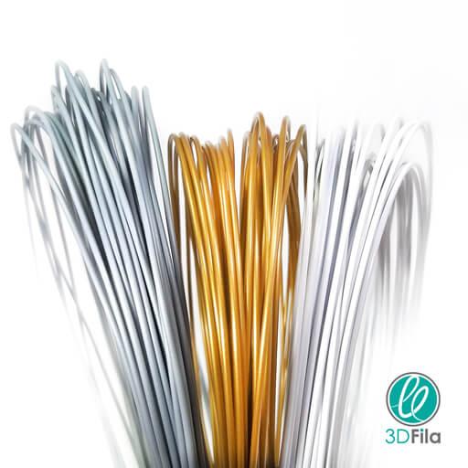 foto com novos materiais filamentos 3d fila para impressora 3d