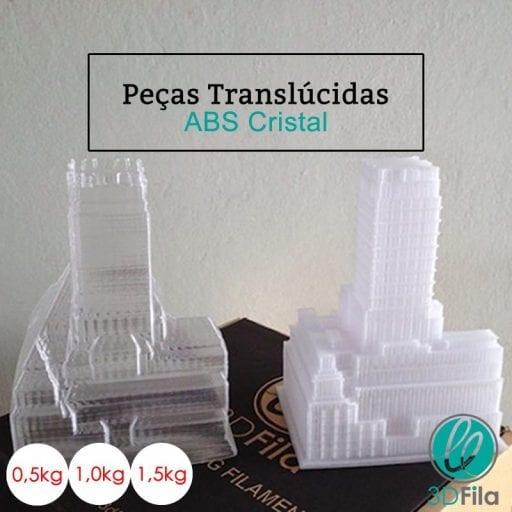 peças translucidas
