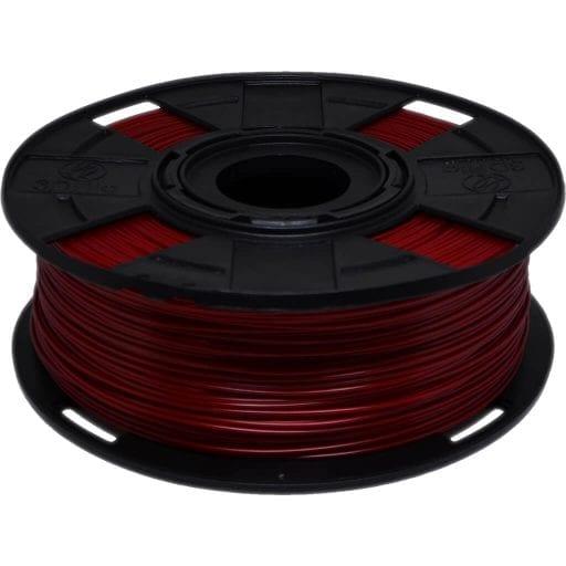 Foto to filamento petg vermelho xt