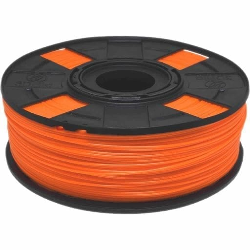 Filamento PLA Laranja Basic Matéria Prima Americana Ingeo Natureworks para Impressora 3D foto de carretel de 1kg