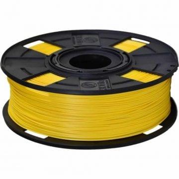 Carretel de Filamento PLA Amarelo EasyFill Sunshine 3D Fila - Imagem com 1kg de material para impressora 3d